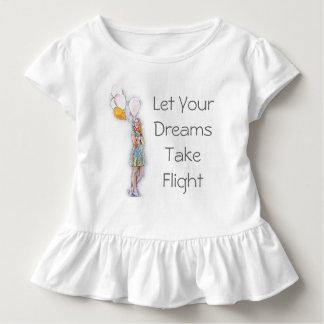 Laat Uw Dromen het T-shirt van de Vlucht nemen