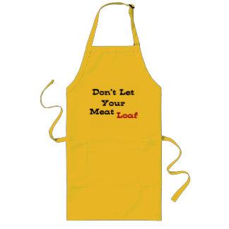 Laat Uw Gehaktbrood niet Lang Schort