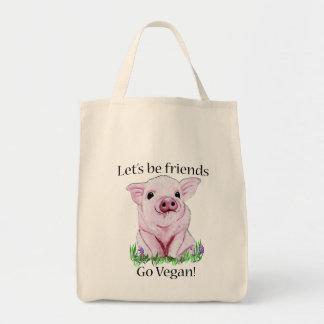 Laat vrienden zijn gaan het bolsa van de draagtas