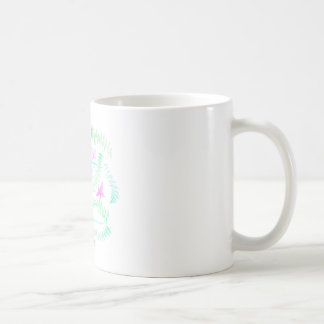 Laat weg vlieg koffiemok
