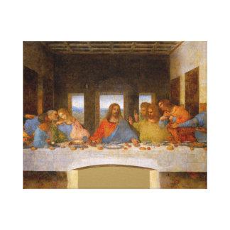 Laatste Avondmaal Da Vinci Canvas Afdruk