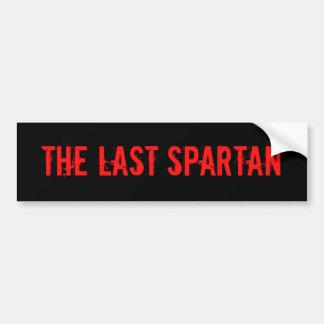 Laatste Spartaans Bumpersticker