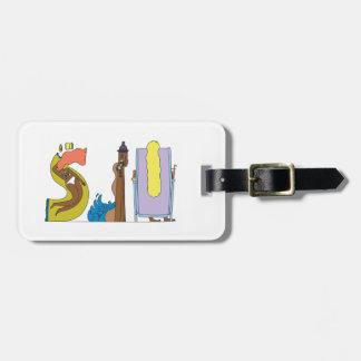 Label | San JUAN, PR van de bagage (SJU) Bagagelabel