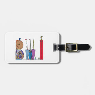 Label   van de bagage BALTIMORE, M.D. (BWI) Bagagelabel