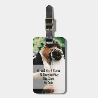 Labels van de Bagage van het Huwelijk van jonggehu