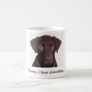 Laboratorium van de chocolade, Mmmm, houd ik van Koffiemok