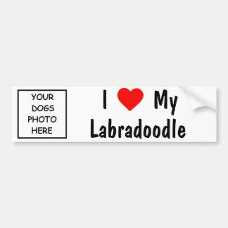 Labradoodle Bumpersticker