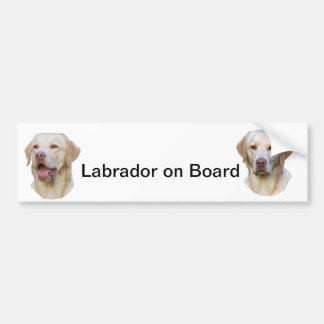 Labrador bumpersticker