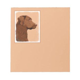 Labrador (Chocolade) Notitieblok