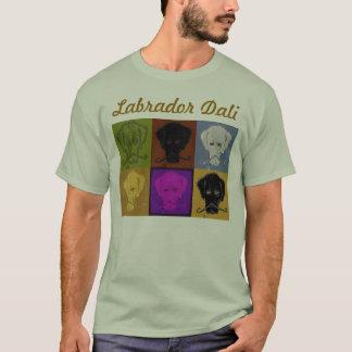 Labrador Dali 6 het licht van het paneellogo T Shirt