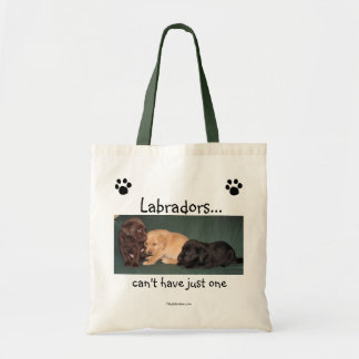 Labradors… kan niet enkel één Canvas tas hebben