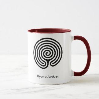 Labyrint van de Mok van de Junkie van de hypnose