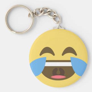 Lach uit Emoji Sleutelhanger