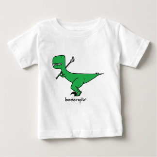 lacrossiraptor baby t shirts
