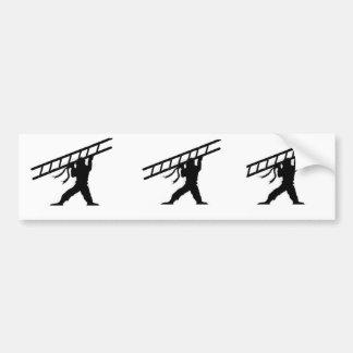 ladder ninja 3 omhoog bumpersticker