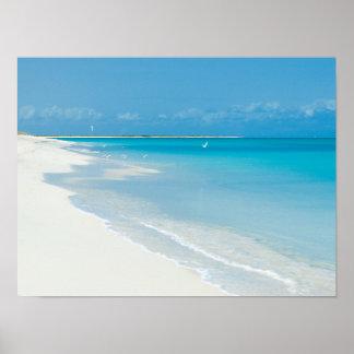 Lage Baai, Barbuda Poster