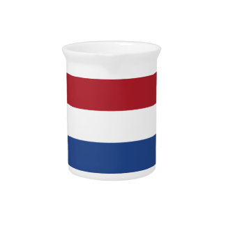 Lage Kosten! De Caraïbische Vlag van Nederland Drank Pitcher