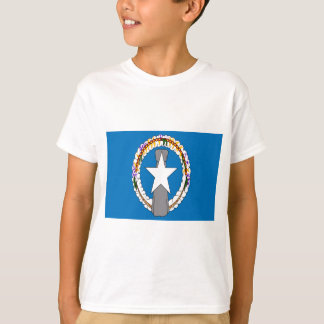 Lage Kosten! De noordelijke Mariana Vlag van T Shirt