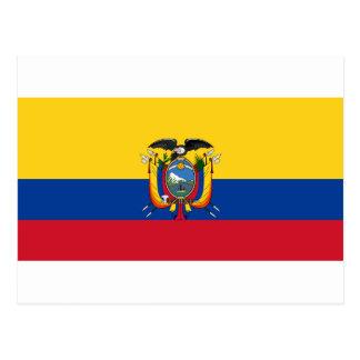 Lage Kosten! De Vlag van Ecuador Briefkaart