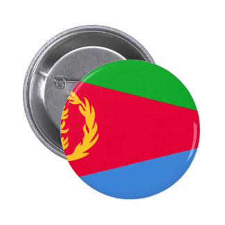 Lage Kosten! De Vlag van Eritrea Ronde Button 5,7 Cm