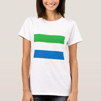 Lage Kosten! De Vlag van het Sierra Leone T Shirt