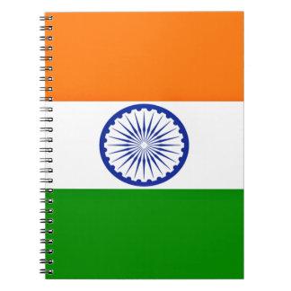 Lage Kosten! De Vlag van India Notitieboek