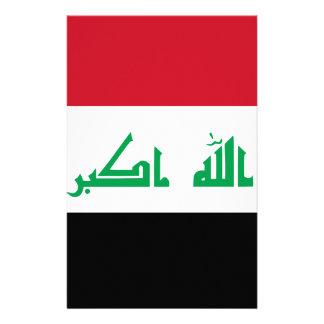 Lage Kosten! De Vlag van Irak Briefpapier