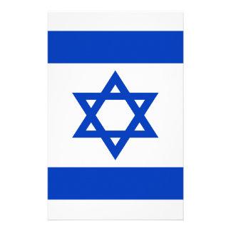 Lage Kosten! De Vlag van Israël Briefpapier