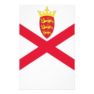 Lage Kosten! De Vlag van Jersey Briefpapier