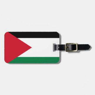 Lage Kosten! De Vlag van Jordanië Kofferlabel