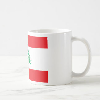 Lage Kosten! De Vlag van Libanon Koffiemok