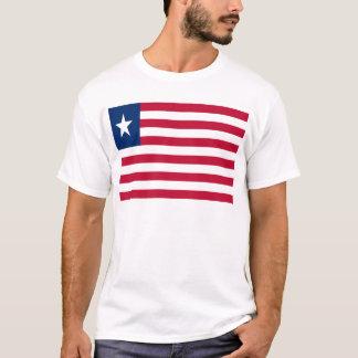 Lage Kosten! De Vlag van Liberia T Shirt
