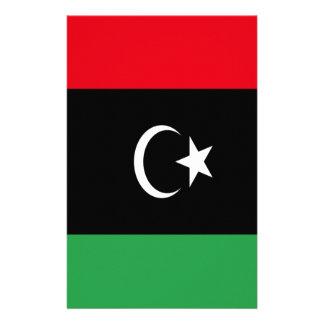 Lage Kosten! De Vlag van Libië Briefpapier