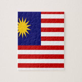 Lage Kosten! De Vlag van Maleisië Legpuzzel