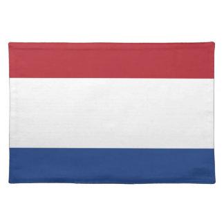 Lage Kosten! De Vlag van Nederland Placemat