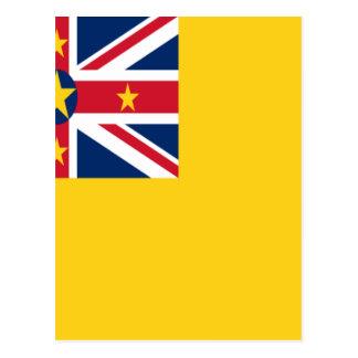 Lage Kosten! De Vlag van Niue Briefkaart