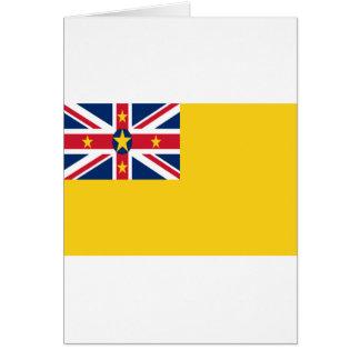 Lage Kosten! De Vlag van Niue Briefkaarten 0