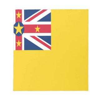Lage Kosten! De Vlag van Niue Notitieblok