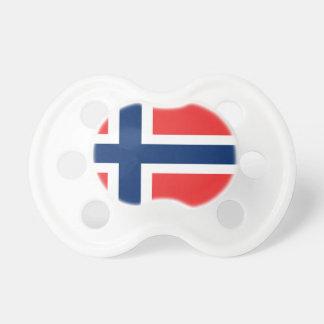 Lage Kosten! De Vlag van Noorwegen Baby Speentje