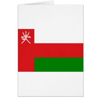 Lage Kosten! De Vlag van Oman Briefkaarten 0