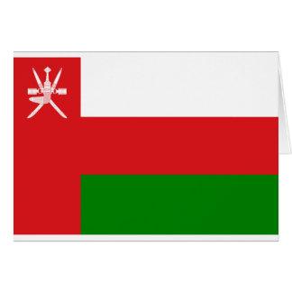 Lage Kosten! De Vlag van Oman Kaart