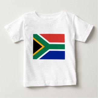 Lage Kosten! De Vlag van Zuid-Afrika Baby T Shirts