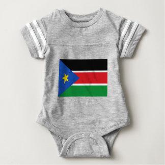 Lage Kosten! De Vlag van Zuid-Soedan Baby Bodysuit