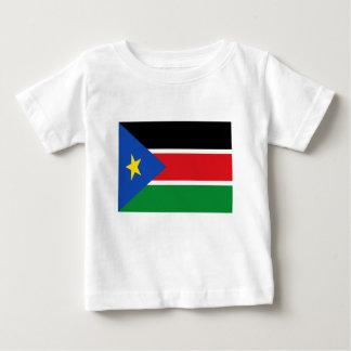 Lage Kosten! De Vlag van Zuid-Soedan Baby T Shirts