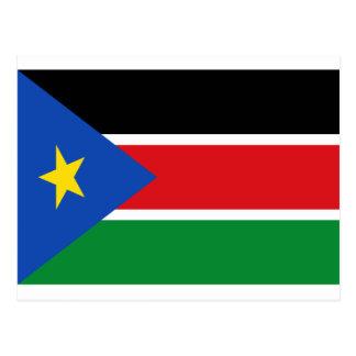 Lage Kosten! De Vlag van Zuid-Soedan Briefkaart