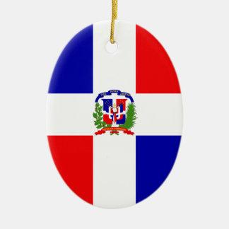 Lage Kosten! Dominicaanse Republiek Keramisch Ovaal Ornament