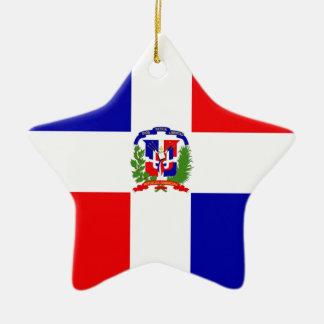 Lage Kosten! Dominicaanse Republiek Keramisch Ster Ornament