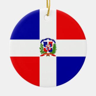 Lage Kosten! Dominicaanse Republiek Rond Keramisch Ornament