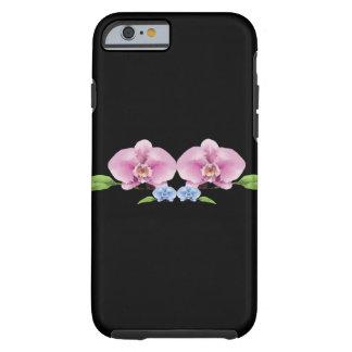 lage PolyDekking II van iPhone6/6S Orchideeën Tough iPhone 6 Hoesje