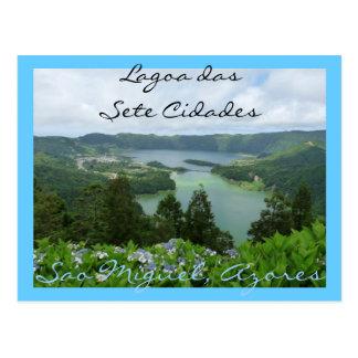 Lagoa das Sete Cidades Briefkaart